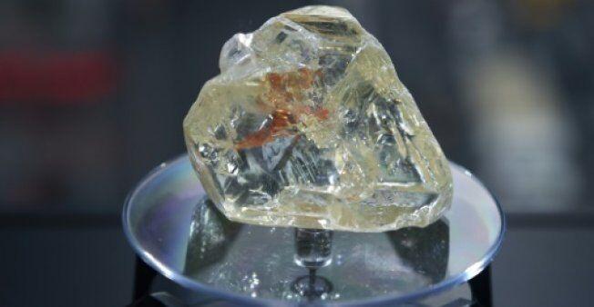 """709克拉超级钻石""""和平之钻""""拍出653万美元(图)"""