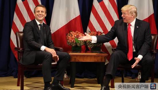 法国总统马克龙将于4月下旬访问美国