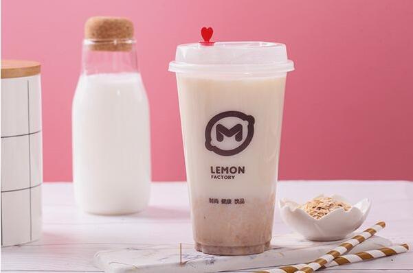 柠檬工坊,2020饮品创业优选,形象鲜明品质出众!