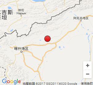 新疆克孜勒苏州阿图什市发生3.1级地震