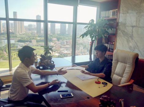 金布袋与上海殊瑞针对上海环保行业发展问题达成合作意向